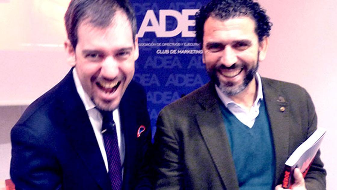 Enrique Torguet y Daniel Vecino