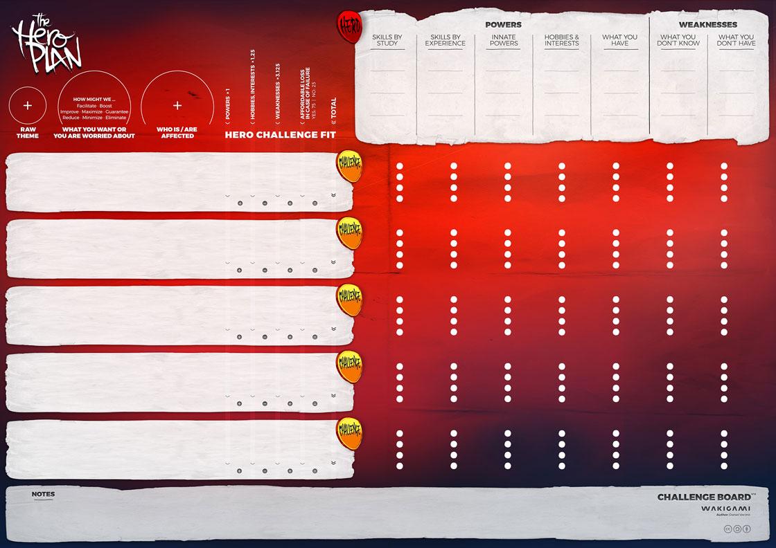 Download The Hero Plan Challenge Board v1.1